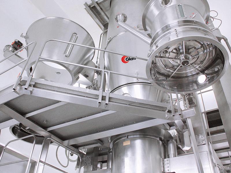Glatt modular fluid bed production plant