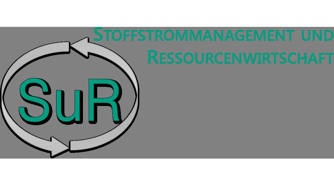 Logo of TU Darmstadt, Institute IWAR, Material Flow Management and Resource Management (SuR)