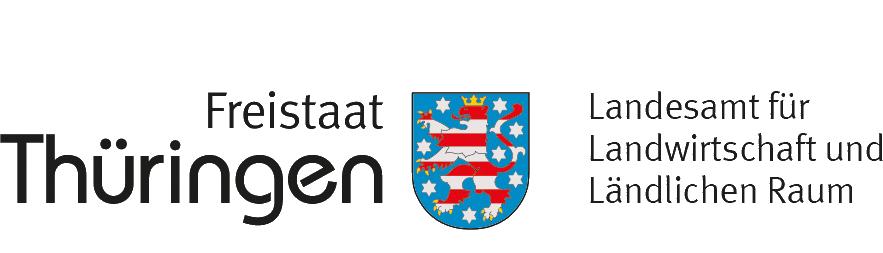 Logo des Freistaates Thüringen, Landesamt für Landwirtschaft und ländliche Räume