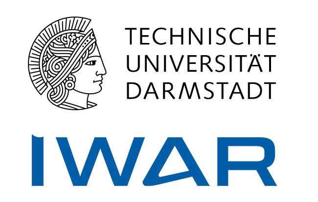 Logo of the TU Darmstadt, Institute IWAR, Department of Wastewater Engineering
