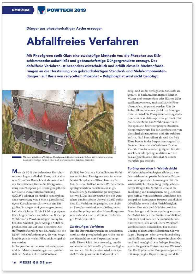 Glatt_FA_067_Abfallfreies-Verfahren_Duenger-aus-Phosphorhaltigen-Aschen_de_Konradin-Messeguide-Powtech2019
