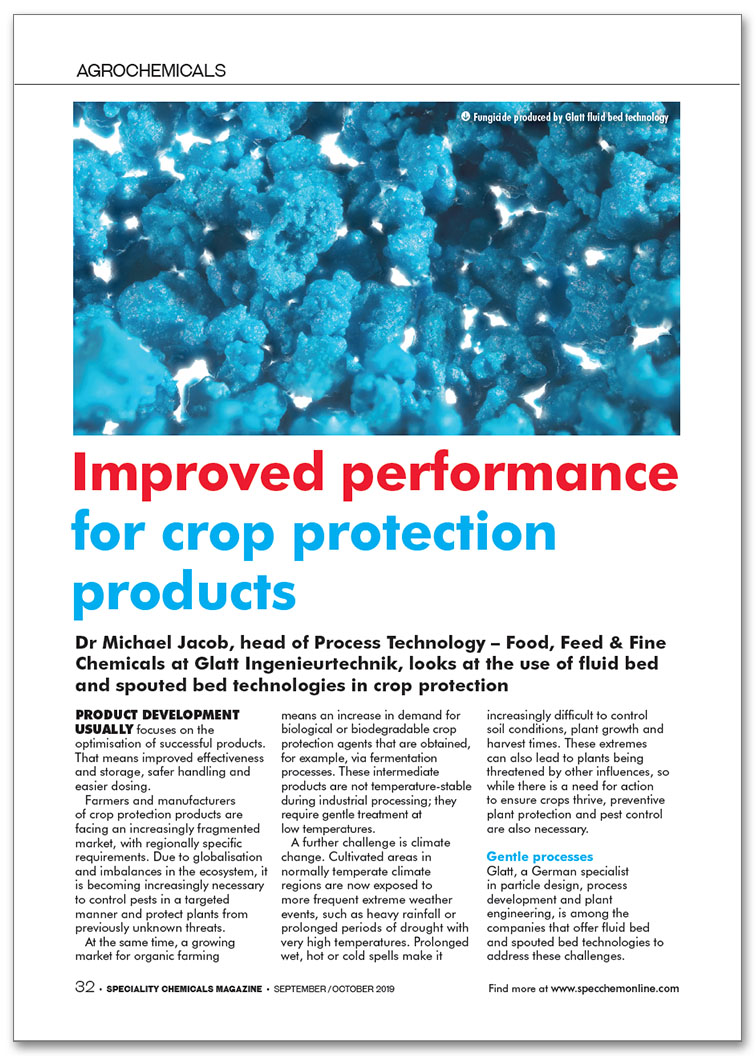 Glatt_FA_076_Improved performance for crop protection products