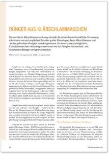 Glatt_FA_053_Phosphor-Rueckgewinnung_Duenger-aus-Klaerschlammaschen_P&A-Kompendium_2018-2019