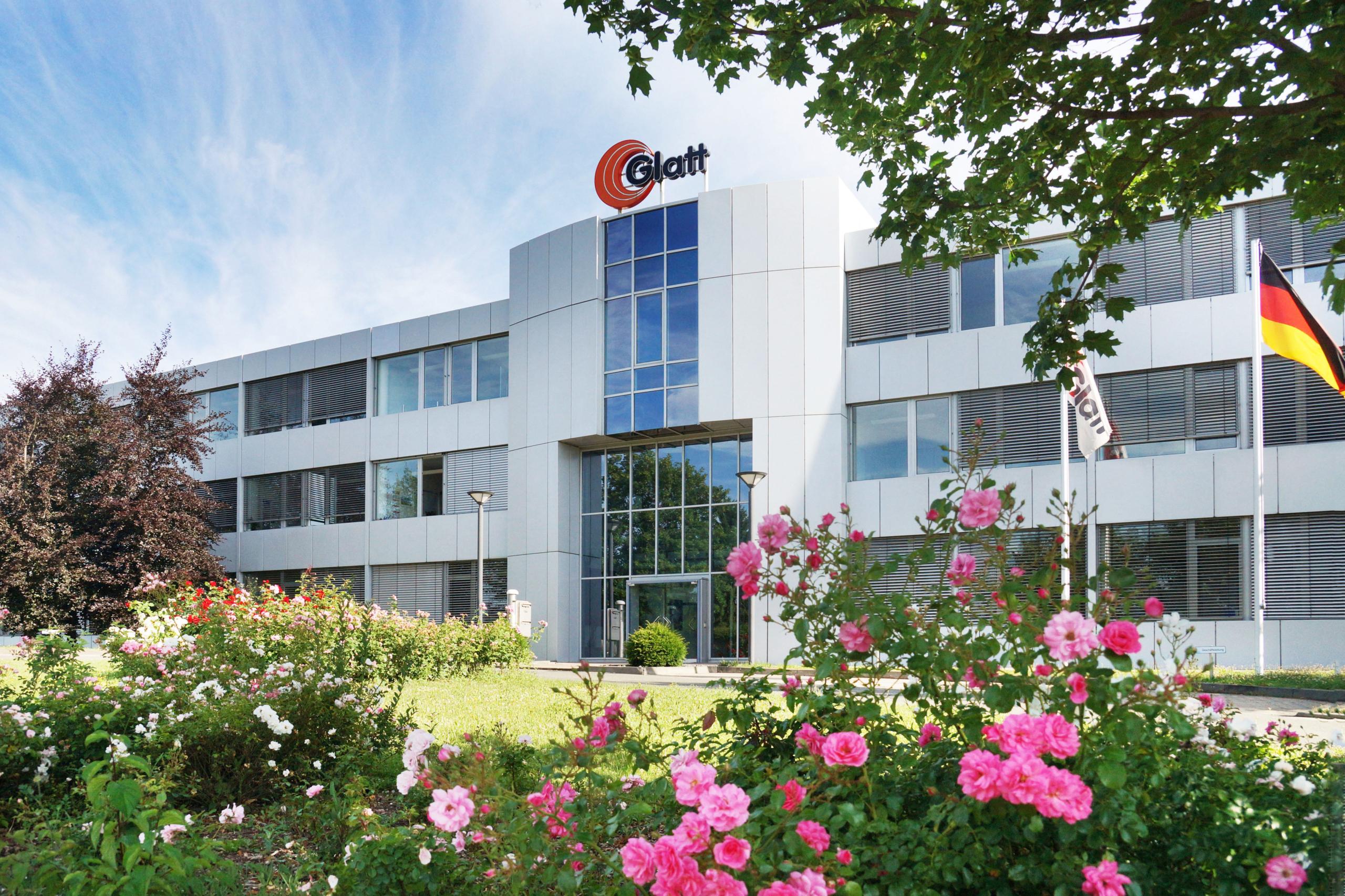 Glatt Ingenieurtechnik, company building at the company's headquarters in Weimar, Germany
